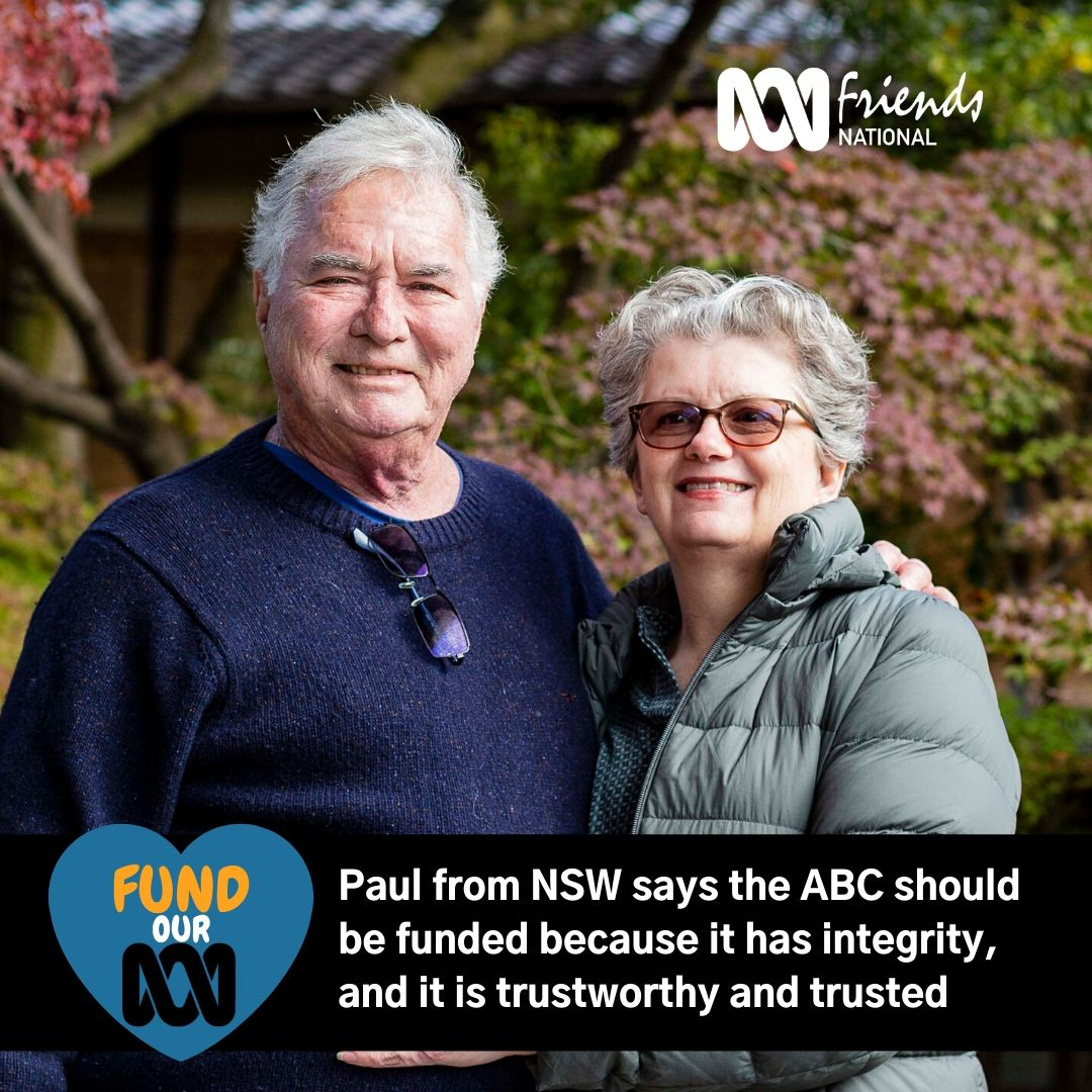Paul, and partner, from NSW