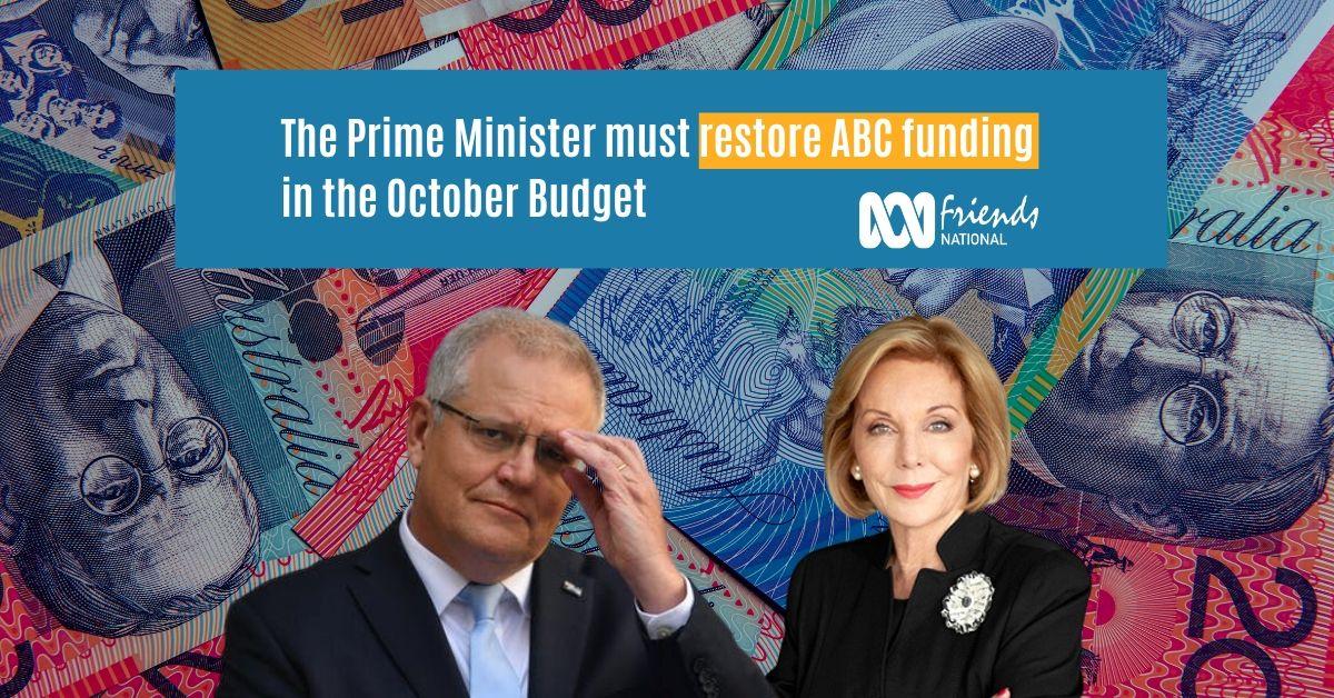 Prime Minister Scott Morrison must restore ABC funding
