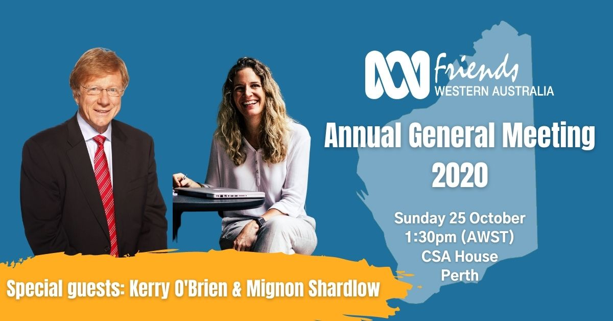 ABC Friends WA AGM 2020