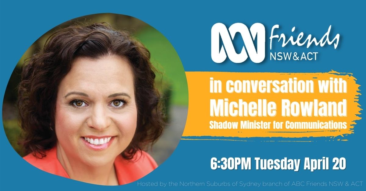 In conversation with Michelle Rowland