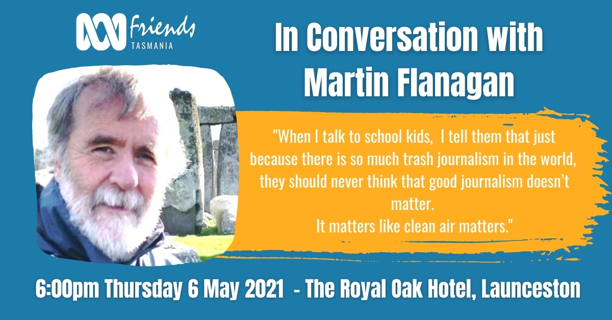 In Conversation with Martin Flanagan