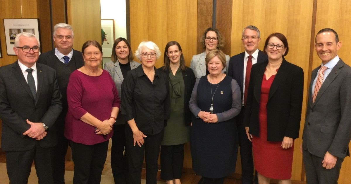 Parliamentary Friends of the ABC meeting with ABC Friends National delegation