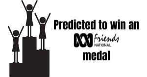 Predicted to win an ABC Friends medal