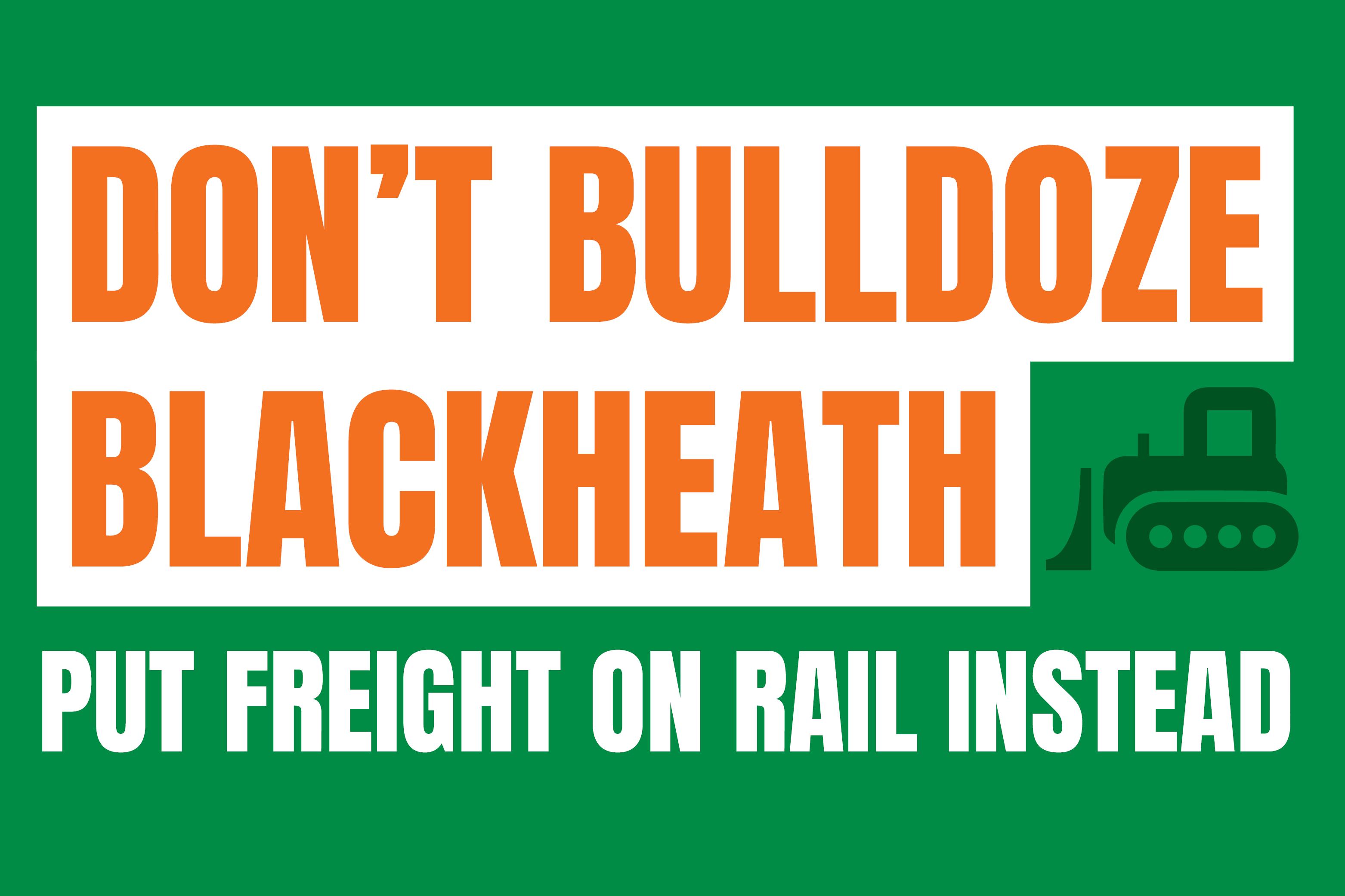 Don't Bulldoze Blackheath - Abigail Boyd MP