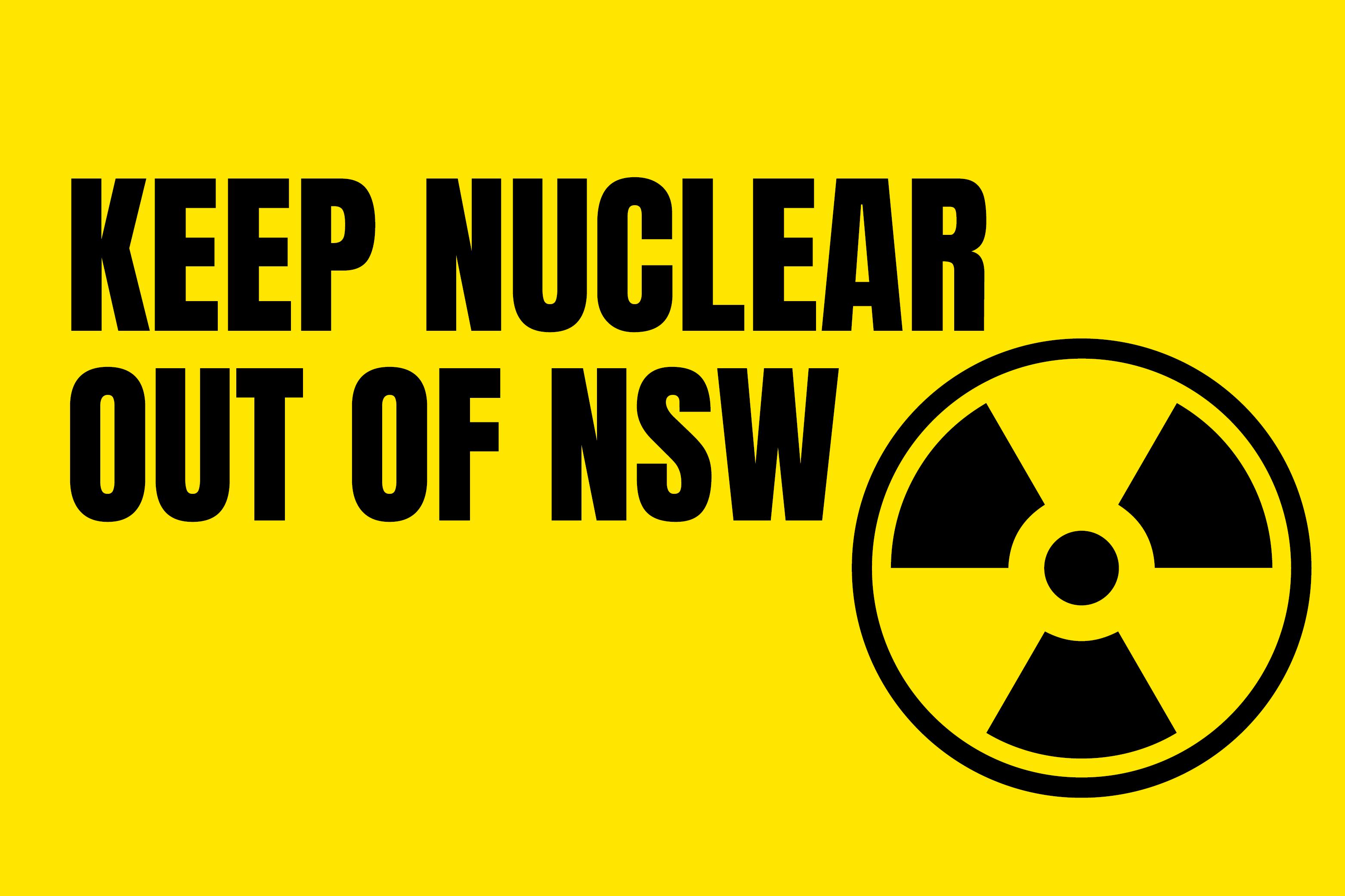 Keep NSW Nuclear Free - Abigail Boyd MP