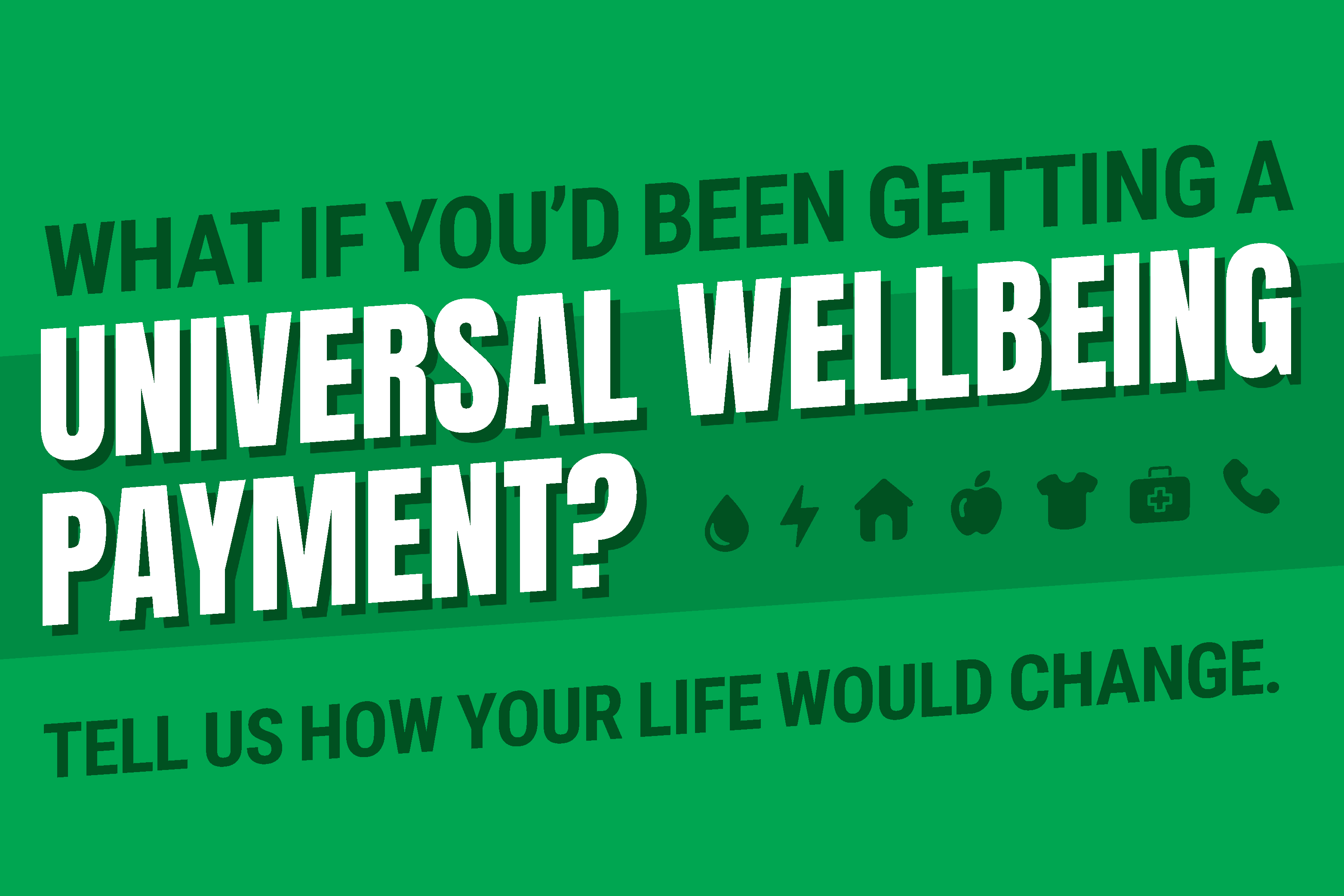 What if you'd been getting a Universal Wellbeing Payment? - Abigail Boyd MP