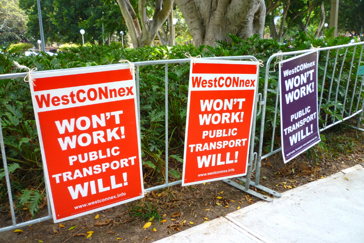 WestConnex headphones cancelling compensation and accountability for impacted residents