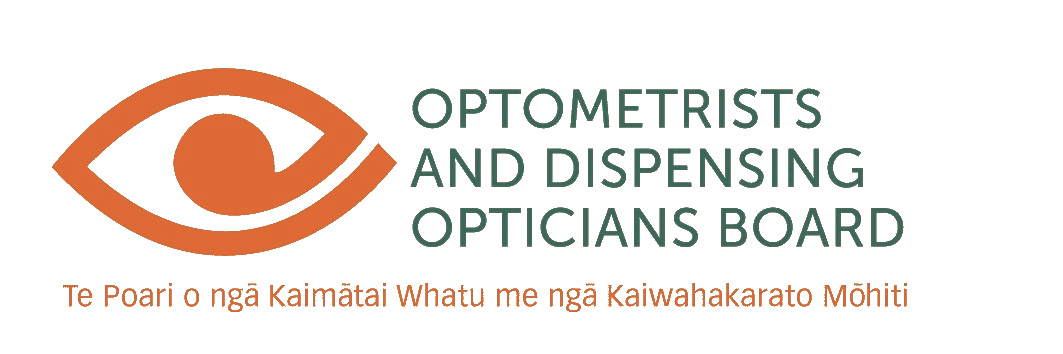 Optometrists and Dispensing Opticians Board logo