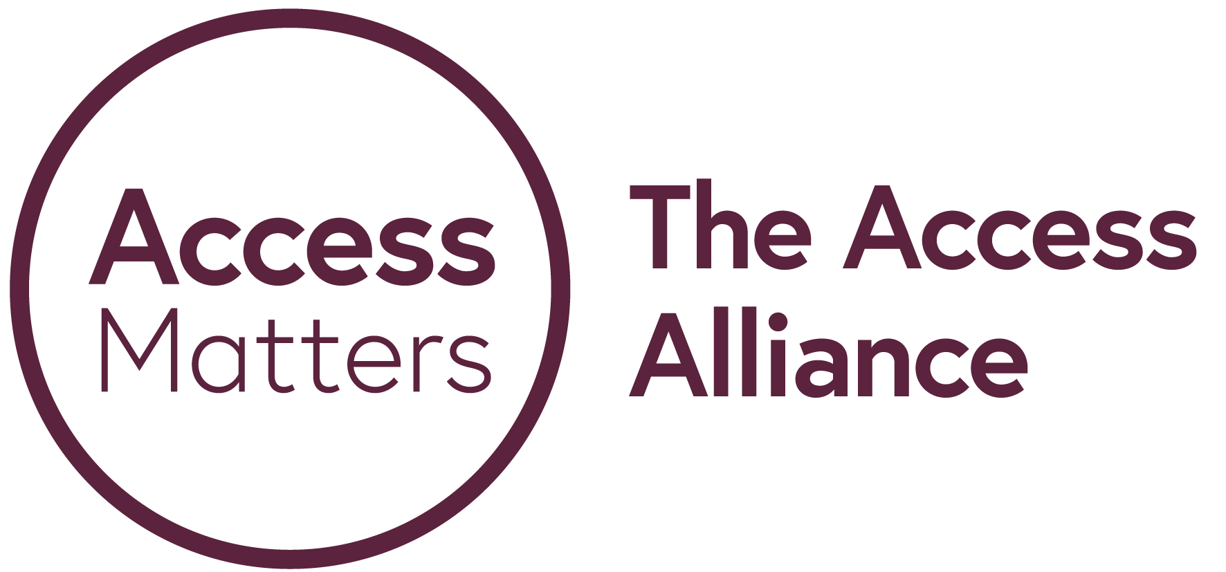 Access Matters, The Access Alliance purple logo