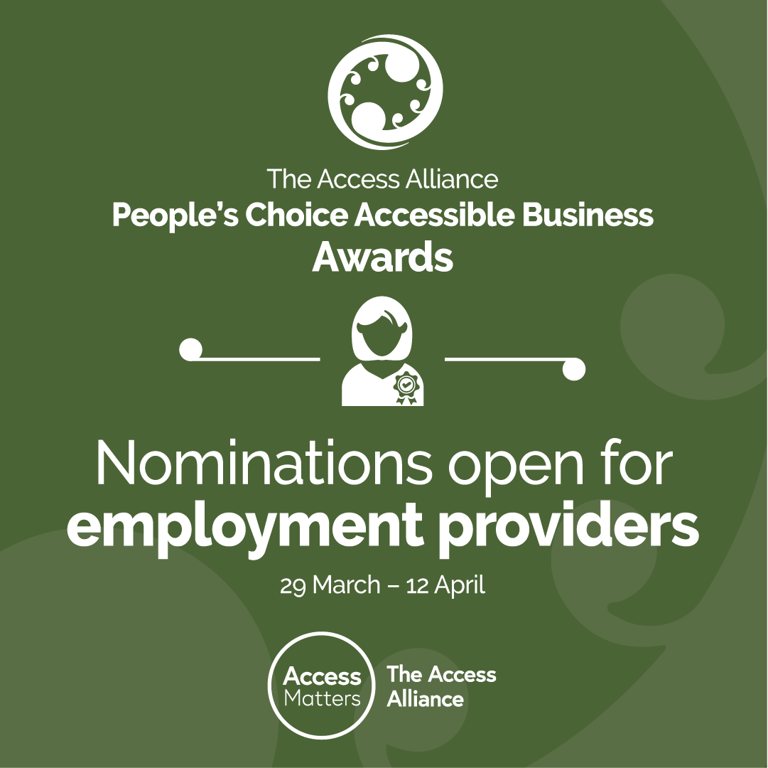 Employment nominations green tile