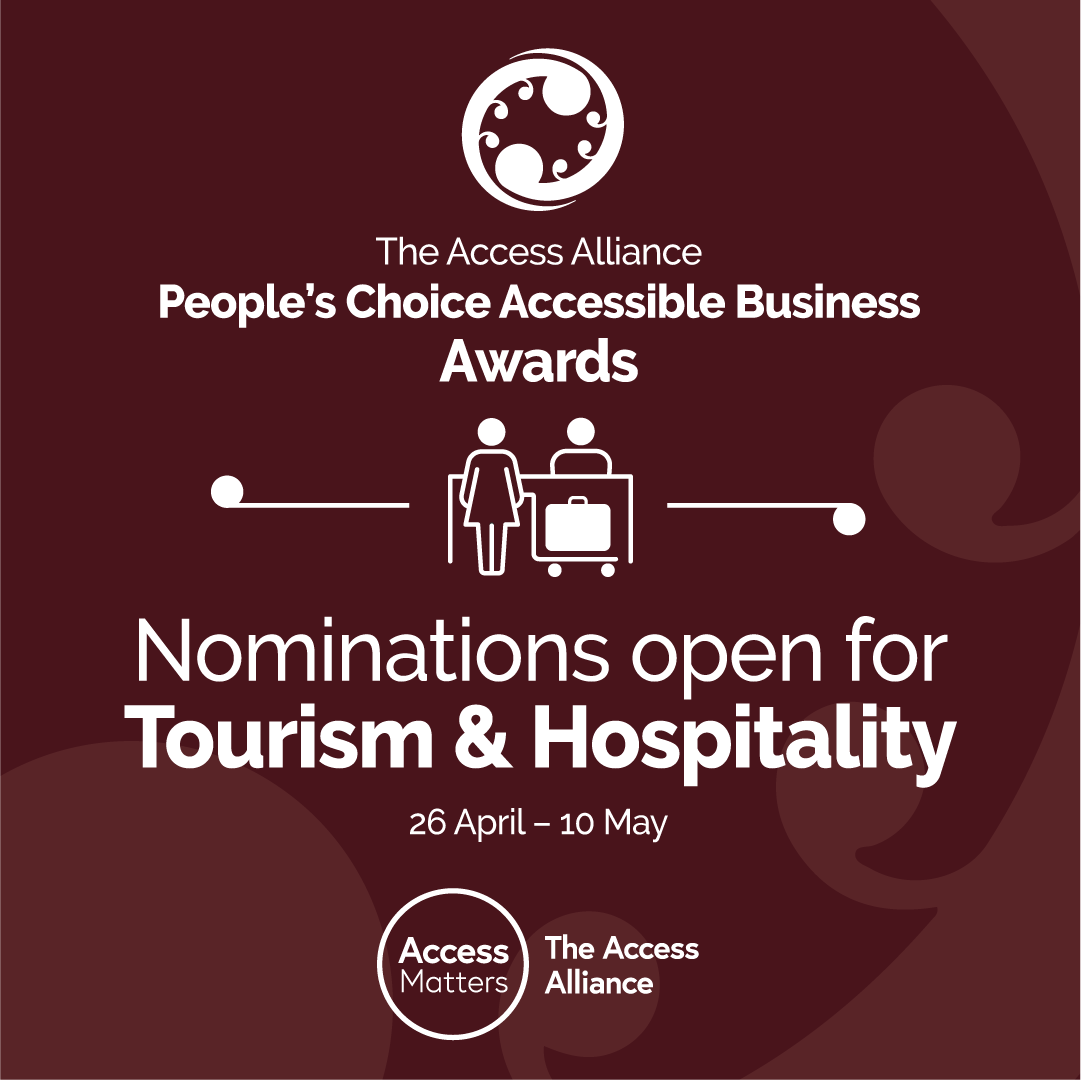 Tourism & Hospitality nominations brown tile