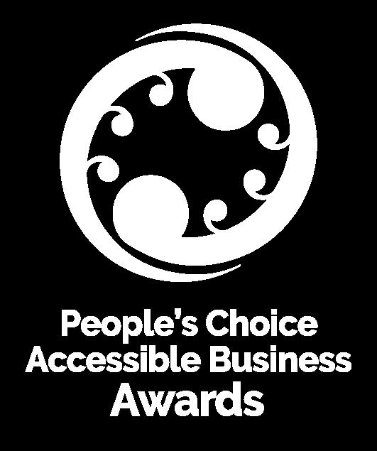 Awards logo in white