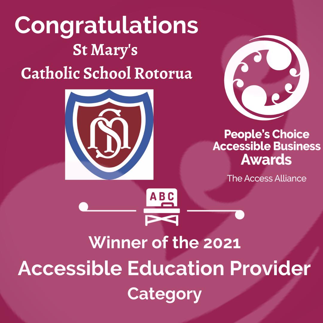 Pink Tile: Congrats St Marys Catholic School Rotorua