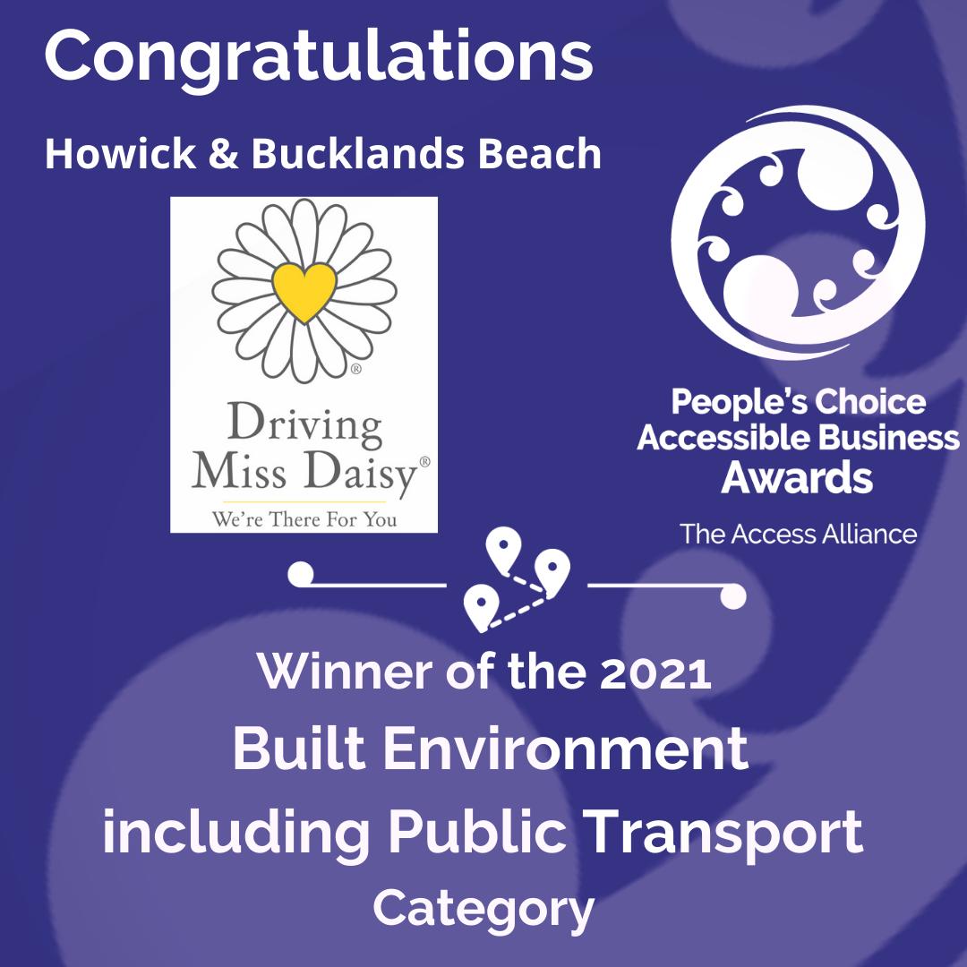 Purple Tile: Congrats Driving Miss Daisy Howick & Bucklands Beach