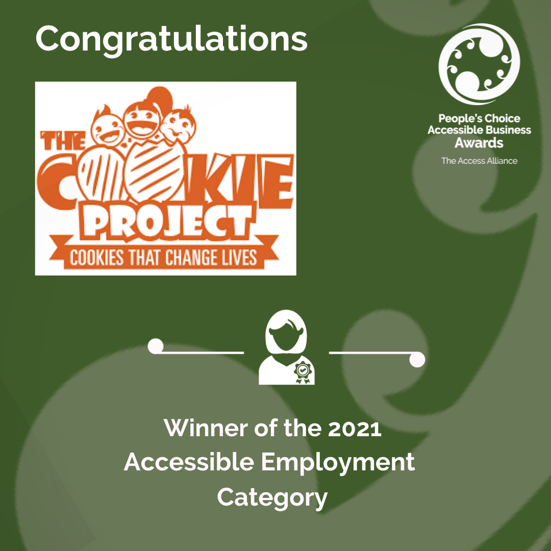 Green Tile: Congrats The Cookie Project.png