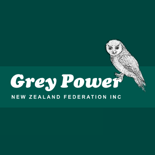 Grey Power NZ Federation Logo