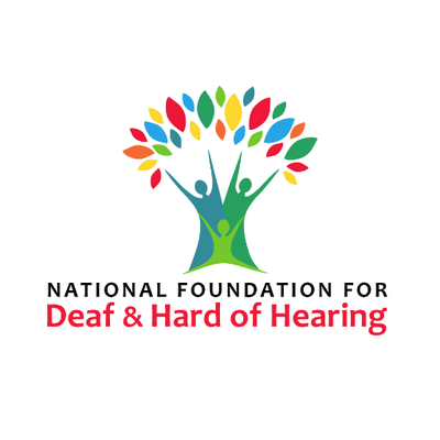 National Foundation for Deaf & Hard of Hearing Logo