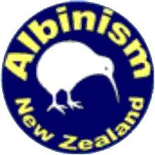 Albinism New Zealand Logo