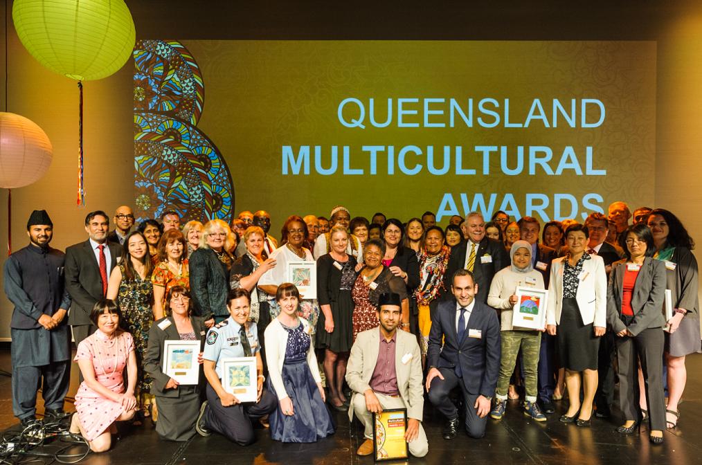 QLD Multicultural Awards Light Up Logan