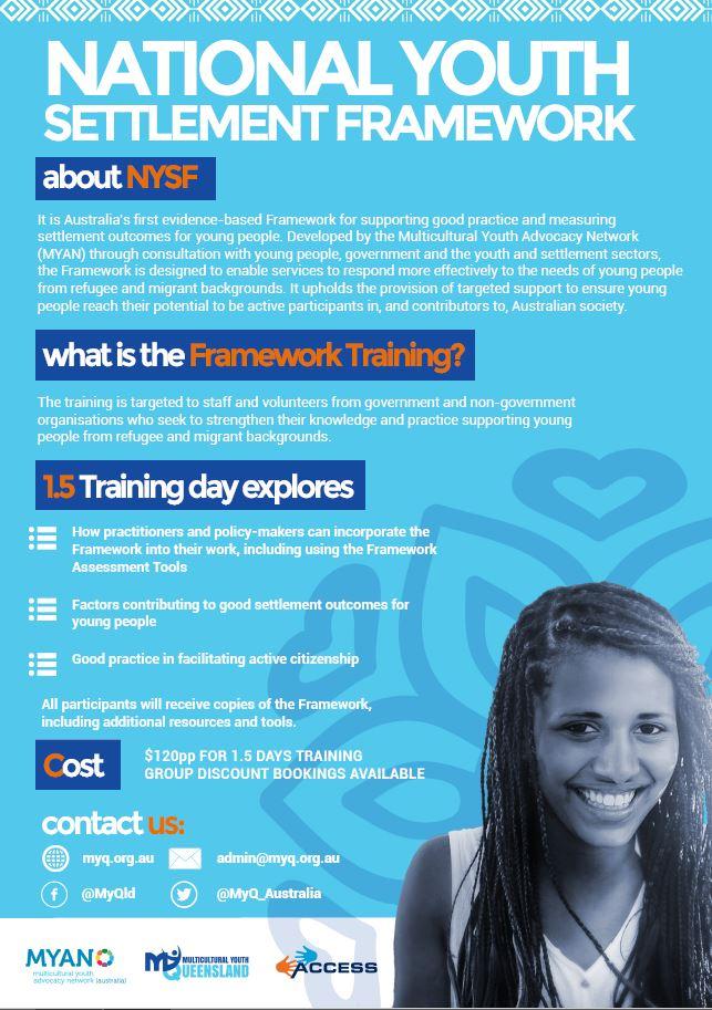 National Youth Settlement Framework Training