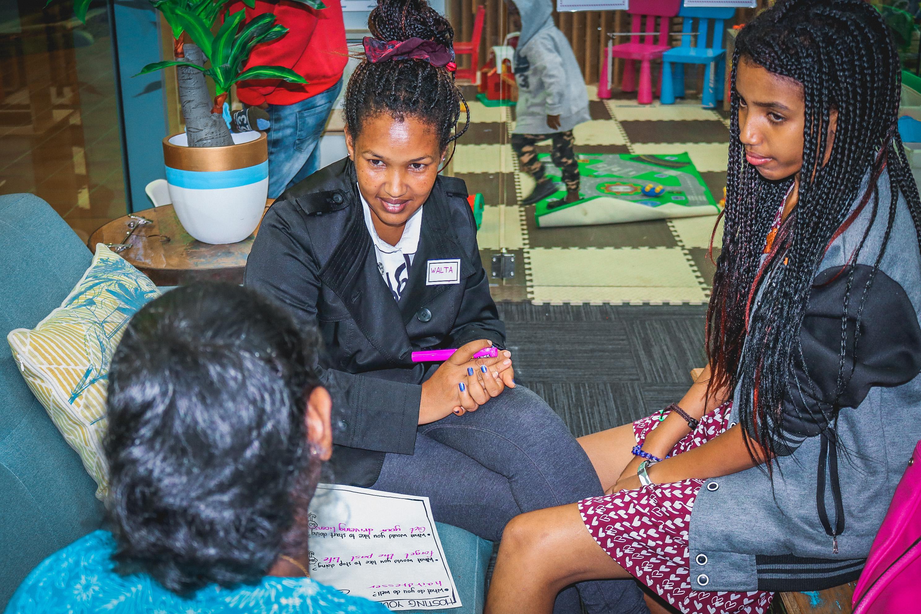 Women hosting consultation