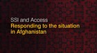 What can we do to help people in Afghanistan?