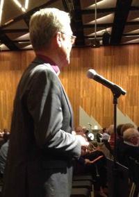 Bishop Browing at the CBA AGM