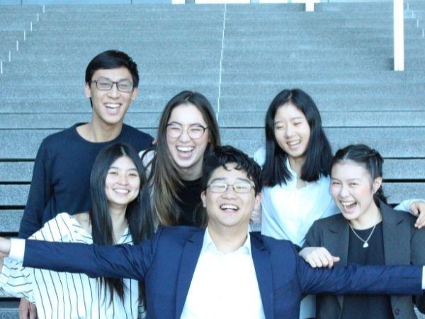 Sabrina Wong and friends