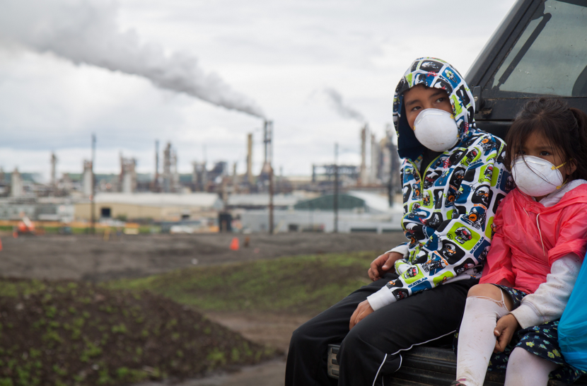Tar Sands Healing Walk 2013, image by Ben Powless