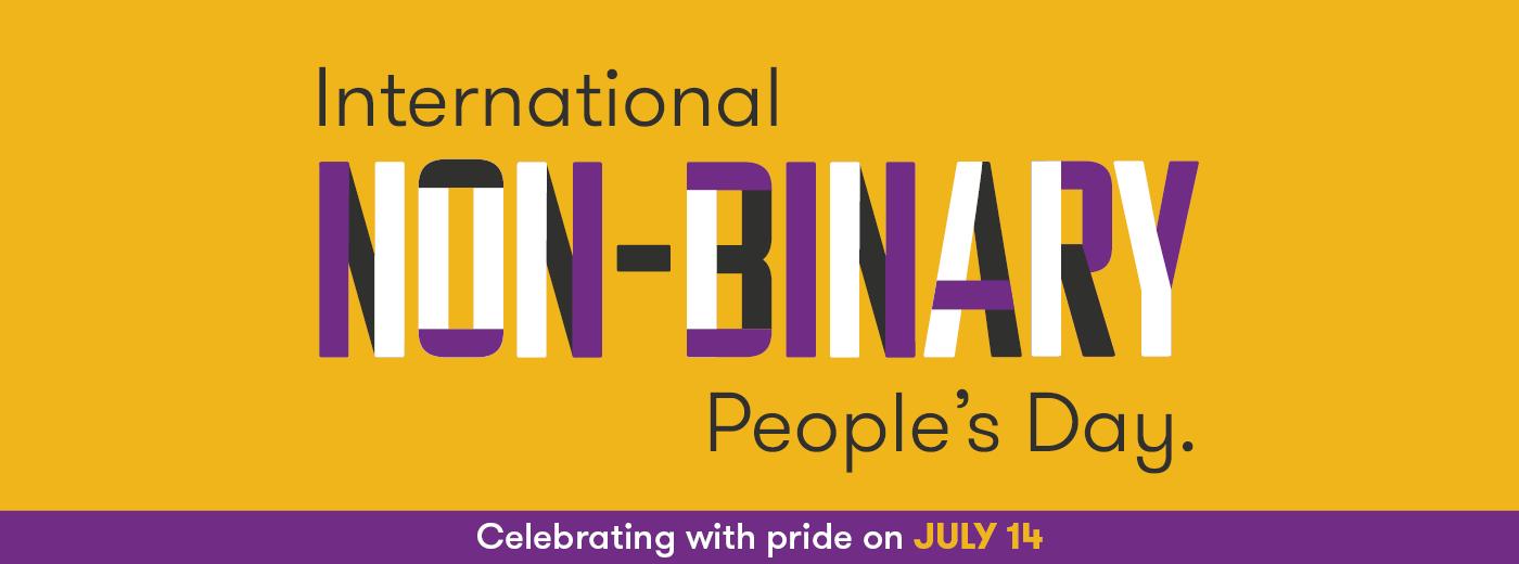 International Non-binary people day 2020