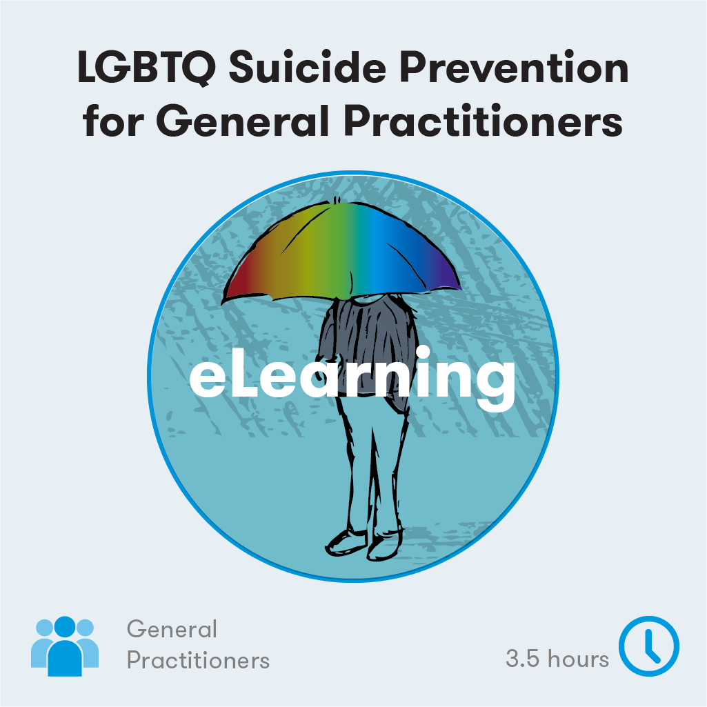 LGBTQ Suicide Prevention for GPs