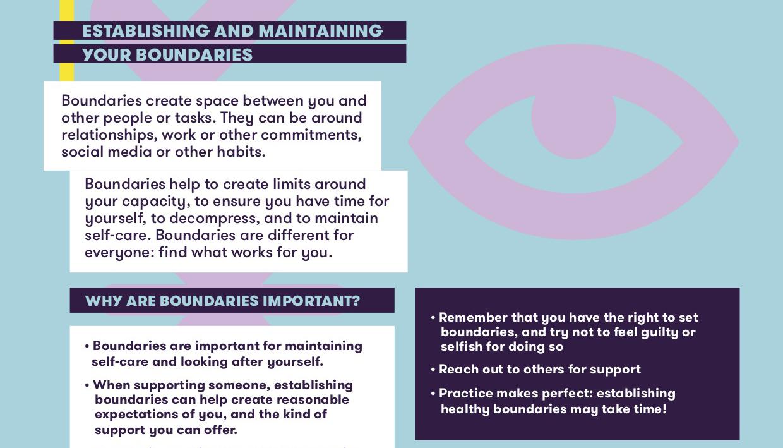 Boundaries_Mental Health Tip Sheet