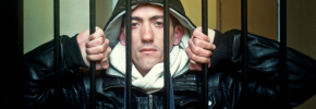 Garry Fraser behind bars