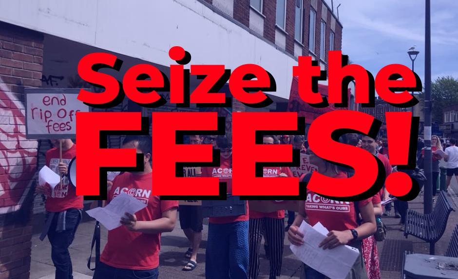 Seize the fees