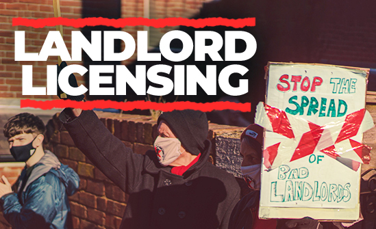 Landlord licensing