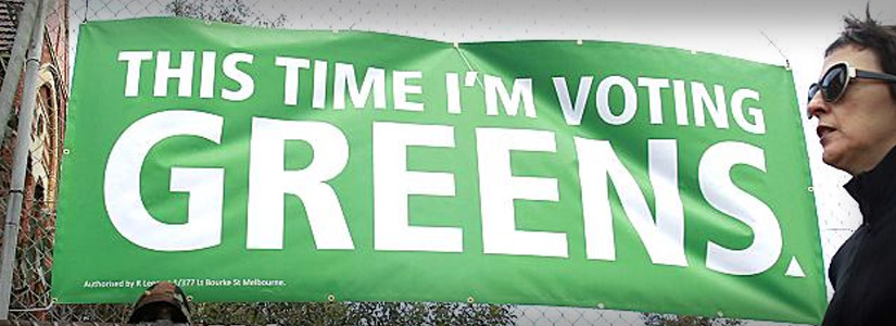 This Time I'm Voting Greens