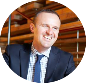 Andrew Barr, Chief Minister