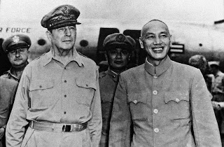 General MacArthur and Chiang