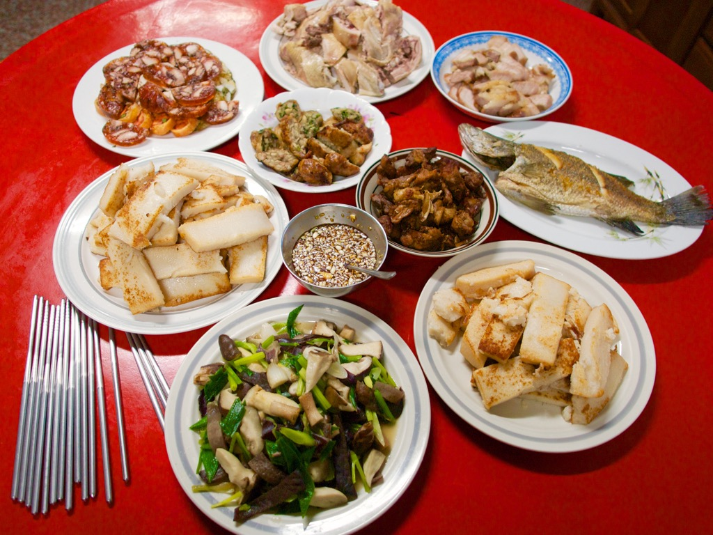 Taiwanese Home Cooked Meal