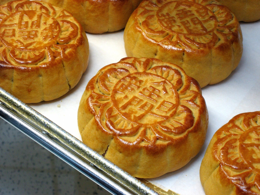 Moon Cakes; Photo by Miss Karen