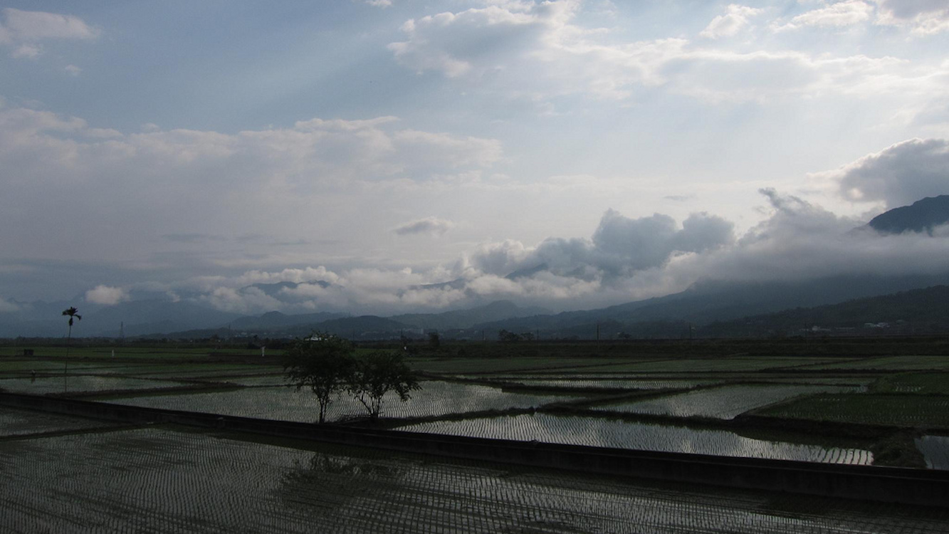 Morning in Taiwan's Rift Valley