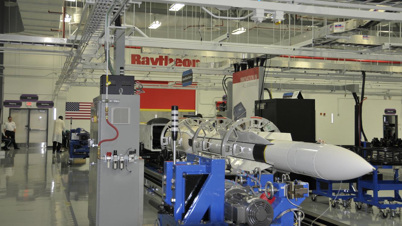 Raytheon Alabama Missile Factory