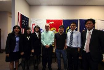 Group photo with Congressman Kerry Bentivolio (center)