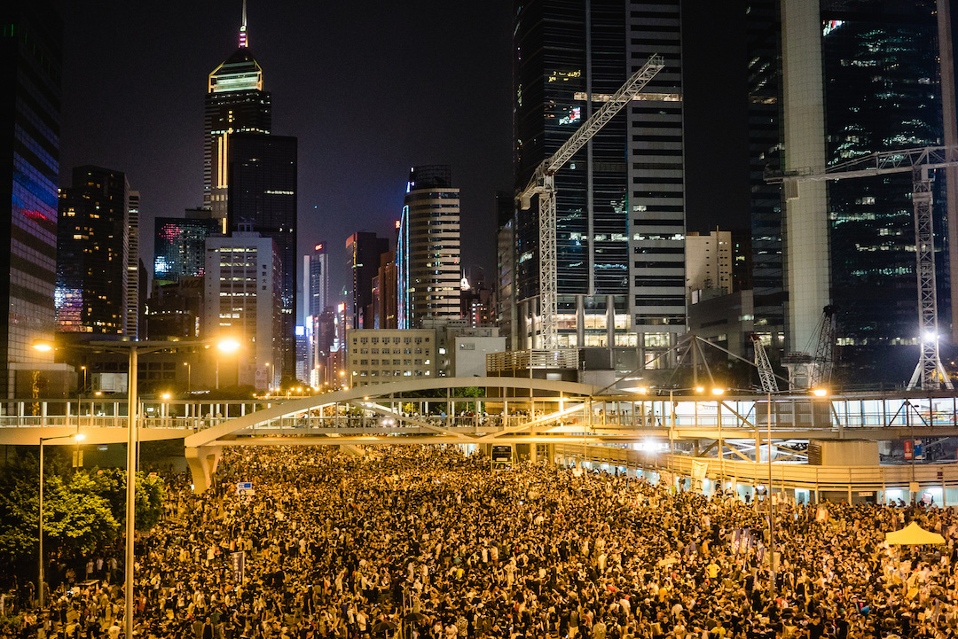 Hong Kong Central District (photo by Pasu Au Yeung)