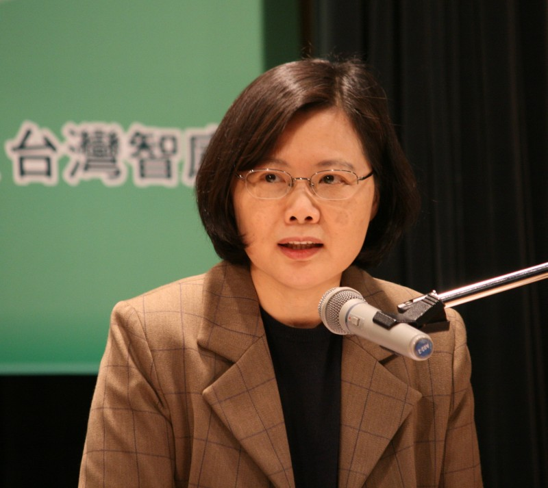 Tsai Ing-wen 蔡英文; photo by David Reid