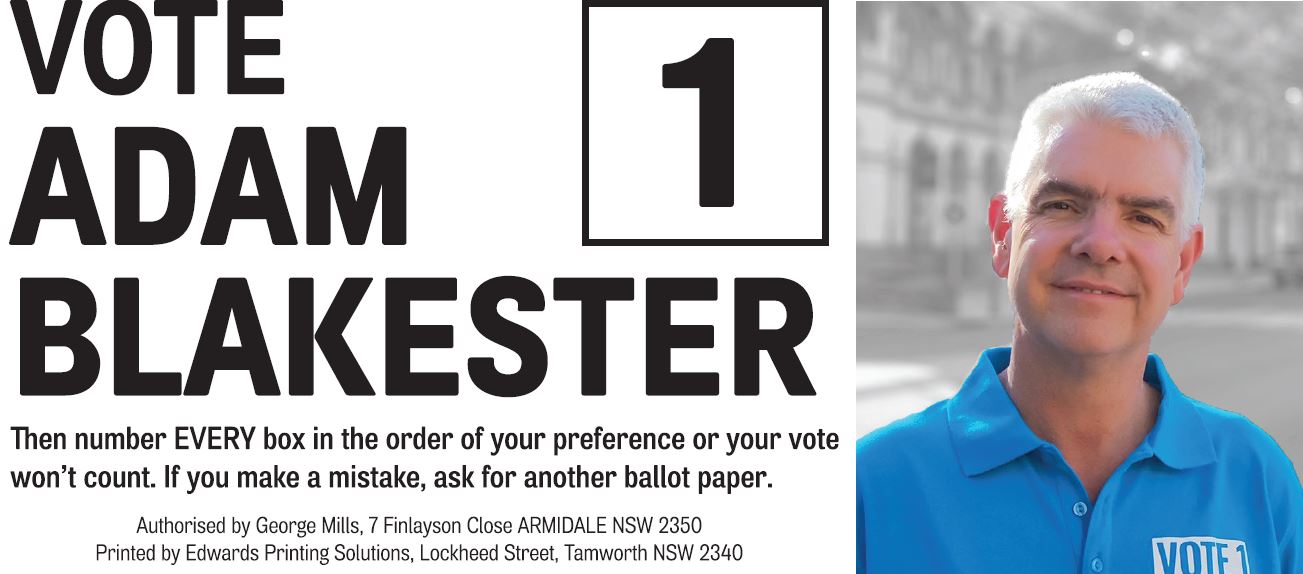 How to vote for Adam Blakester