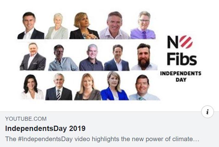 Independents from around Australia