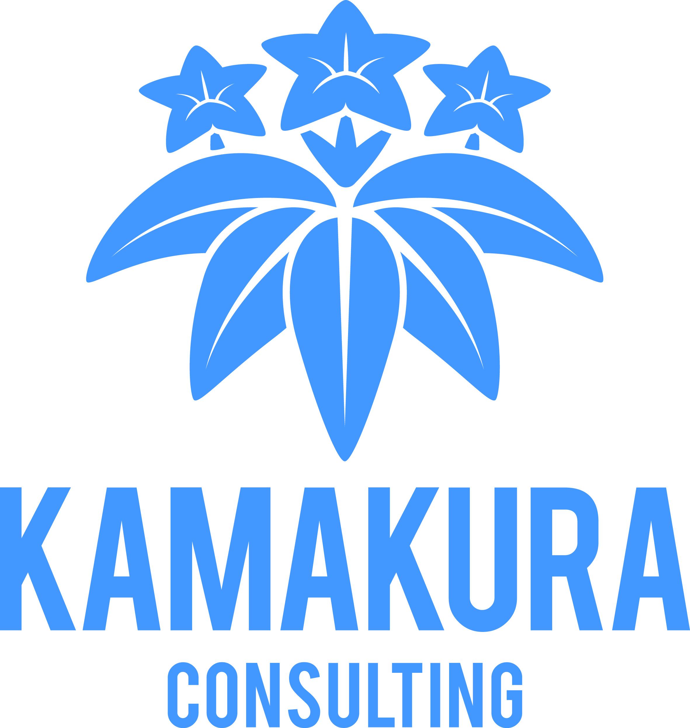 Kamakura blue logo