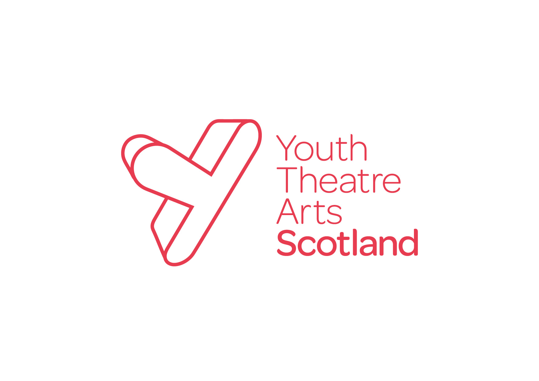 youth theatre arts scotland logo