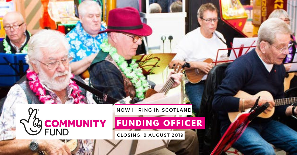 Funding Officer with The National Lottery Community Fund - AAI